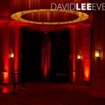 Red Uplighting Midland hotel Manchester