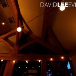 White Hart Wedding Lighting