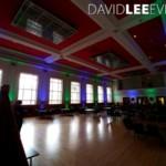 Dukinfield Town Hall Event Lighting