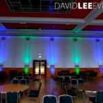 Dukinfield Town Hall Wedding Lighting