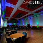 Event Lighting for Dukinfield Town Hall