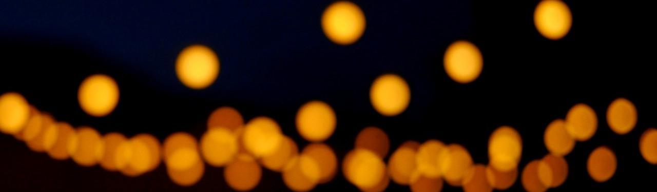 Wedding Lighting Festoons